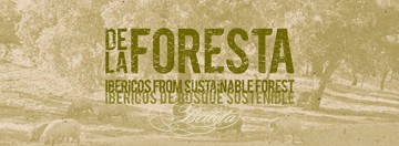 Delaforesta Ibericos from sustainable forest